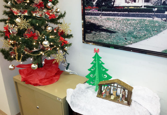 Nativity in the Prothonotary's Office