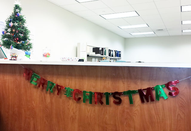 """Merry Christmas"" In The Bureau of Elections"
