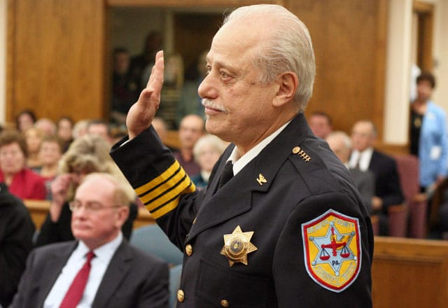 Sheriff George David // Beaver Countian File Photo