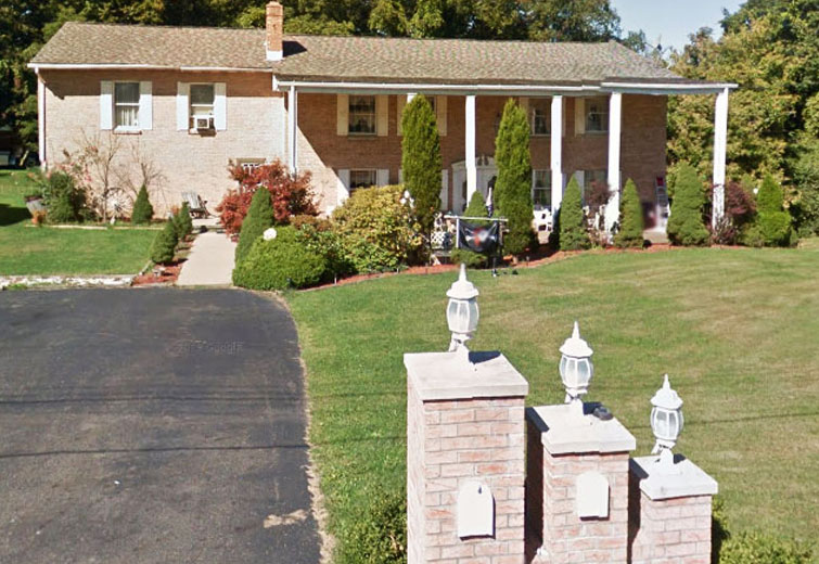 Treasurer Connie Javens' House / imagery © Google